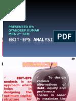 EBIT-EPS ANALYSIS {by GYANDEEP}