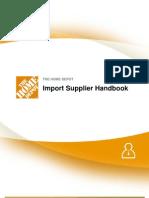 Import Supplier Handbook 092811