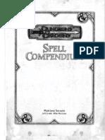 [D&D 3.5E] [Accessory] Spell Compendium (B&W)