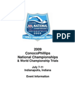 2009 ConocoPhillips National Championships & World Championship Trials