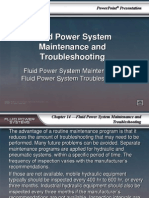 Fluid Power System Maintenance and Troubleshooting