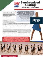 2006-07 synchro fact sheet