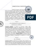 Acta Constitutiva y Estatutos (1)