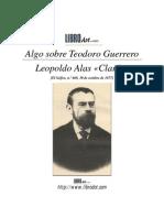 Algo Sobre Teodoro Guerrero