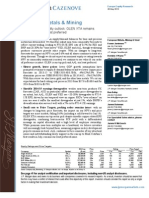 European Metals and Mining ...280513
