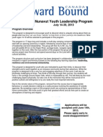 NYLP Application Package 2013. for Youth Applicants.june 19