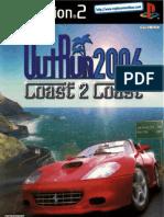 Outrun 2006 - Coast 2 Coast - Manual - PS2