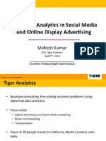 Open Analytics Summit NYC - Tiger