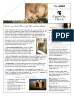 200905 Newsletter and Calendar