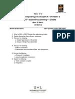 MC0073 Assignment Winter 2012
