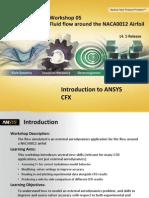 CFX-Intro 14.5 WS05 NACA0012-Airfoil