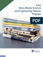 2013 Media Fellows Webm