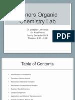 honors o chem lab presentation spring 2013 04-17-13 v1