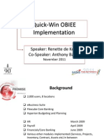 Quick-Win OBIEE Nov2011