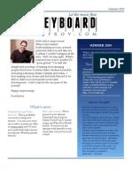 KeyboardImprov.com Summer 2013 Newsletter