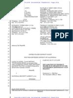 Jewel v #NSA 6-13-2013 #PRISM Docs Legal Filing