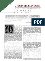[Alchimie] Pontanus Jean - Epître du Feu Philosophique