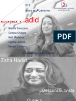 Seminario_Zaha Hadid - PRONTO