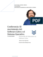 Conferencia Richard Stallman
