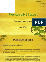 Fixer Prix Export