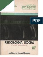 Livro Psicologia Social o Homem Em Movimento