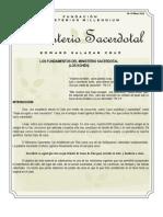 Edward Salazar Cruz. Los Fundamentos del Ministerio Sacerdotal.Volumen 1, No.1.pdf