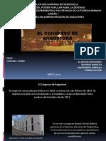 Diapositivas Congreso de Angostura