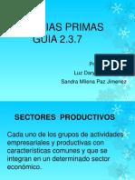 MATERIAS PRIMAS presentacion