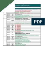 Calendario Geral EAD 2013.2 Semestral