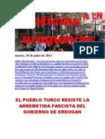 Noticias Uruguayas Martes 18 Junio Del 2013