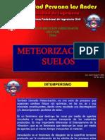 meteorizacion suelos
