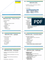 Slide Medicina Legal