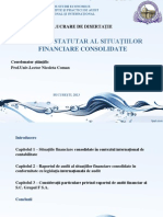 Auditul Statutar Al Situatiilor Financiare Consolidate - Birsan Ioana Denisa