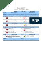 CONCRETE 2012 - PROGRAMA XI CONVENCIÓN - ACI PERU