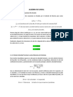 Explicacion Ejercicios Algebra No Lineal