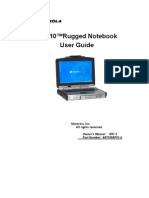 Motorola ML910 Rugged Notebook User Manual