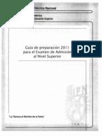 Guia Para Examen2011 IPN Nivel Superior