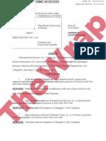 Reed Elsevier Response to Penske Variety Lawsuit
