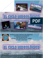Diapositivas Del Ciclo Hidrologico Exposicion