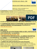 Noticias Ude- Alfa III Trall