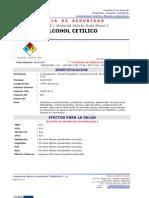 Msds Alcohol Cetilico