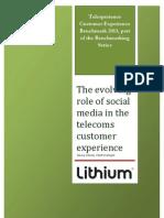 Telecom Social CXP—Who's Serious in 2013?