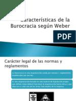 Caracteristicas de La Burocracia