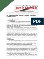 Socializacion y Control Social