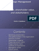 SM A10 Purpose Shareholder Value and Stakeholders