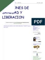 ORACIONES DE SANIDAD Y LIBERACION_ 02-Oraciones para Sanidad (Sanación)