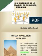 Evolucion Historica de La Administracion de Recursos Humanos Semana