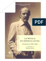 La novela en América Latina - Panoramas 1920 - 1980