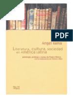 Literatura, Cultura y Sociedad en America Latina