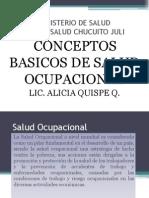 Ponencia Salud Ocupacional Desaguadero
